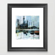 Steel Mecca Framed Art Print