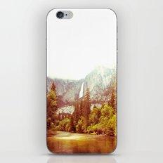 Yosemite Falls iPhone & iPod Skin