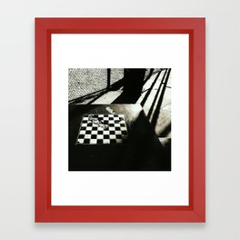 A game most foul Framed Art Print