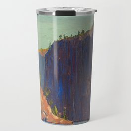 Tom Thomson - Petawawa Gorges - Canada, Canadian Oil Painting - Group of Seven Travel Mug