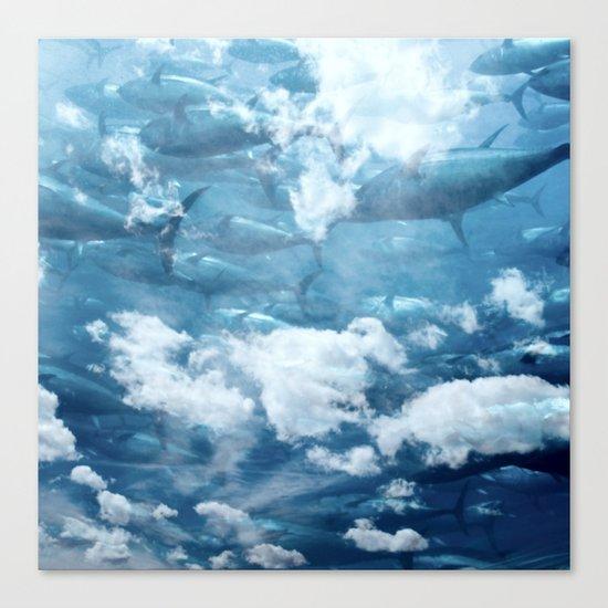 Tuna skies Canvas Print