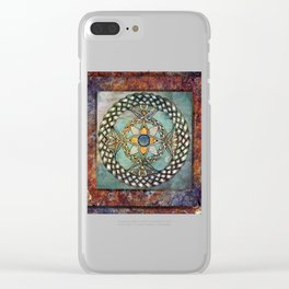 Mindful Passage Celtic Knot Clear iPhone Case