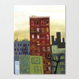 City Building Canvas Print