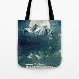 Sawtooths: Stanley Lake Tote Bag