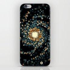 Pinwheel Galaxy M101 (8bit) iPhone & iPod Skin
