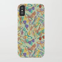sunglasses iPhone & iPod Cases featuring Sunglasses by Laura Barnes