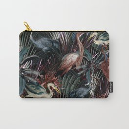 Floral and Birds XXXVIII Carry-All Pouch