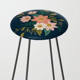 Spring flowers Counter Stool