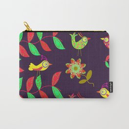 Lovely Birds Carry-All Pouch