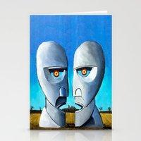 floyd Stationery Cards featuring Floyd canvas by Raqueldraw
