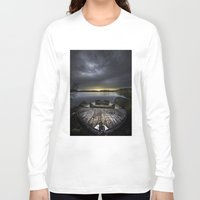 rowing Long Sleeve T-shirts featuring I beg you by HappyMelvin