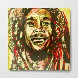 Nesta Marley Metal Print