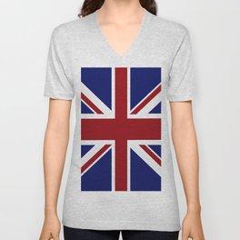 The British Flag Unisex V-Neck