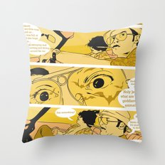 Holy Jesus, What Are These Goddammed Animals? Throw Pillow