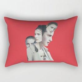 Coming out Rectangular Pillow