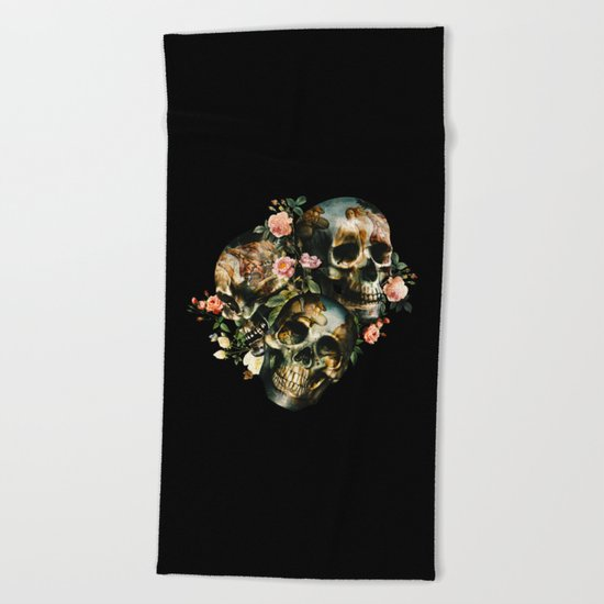 Skull  & Venus Beach Towel
