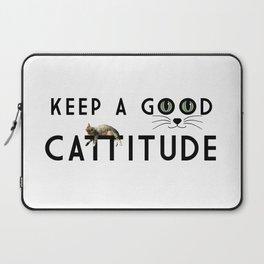 Keep A Good Cattitude (feat. Shorty) Laptop Sleeve