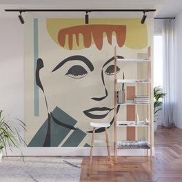 Abstract Face III Wall Mural