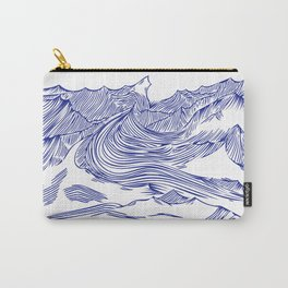 Seawaves Carry-All Pouch