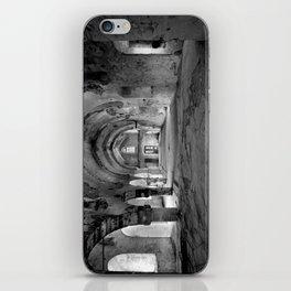 A derelict churh in Northern Cyprus iPhone Skin