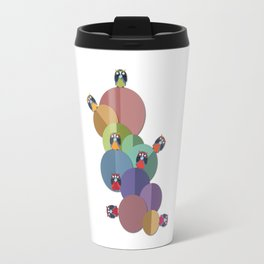 The Community Of Owls Travel Mug