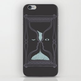 blink and you'll miss it iPhone Skin