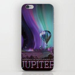 Jupiter Poster iPhone Skin