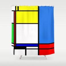 Mondrian New Shower Curtain