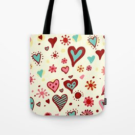 HEART--DRAW Tote Bag