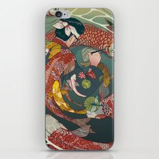 Ukiyo-e tale: The creative circle iPhone Skin