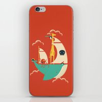 voyage iPhone & iPod Skins featuring Voyage by Jay Fleck