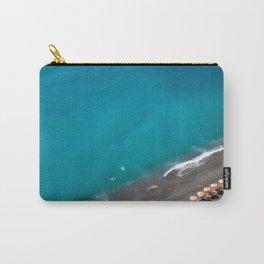 Positano Beach Umbrellas Carry-All Pouch