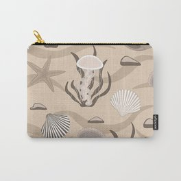Seashells, jellyfish, pearls in the shell. Carry-All Pouch
