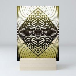 Shield of Gold Palms Mini Art Print