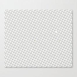 Pipas (sunflower seeds) pattern. Canvas Print
