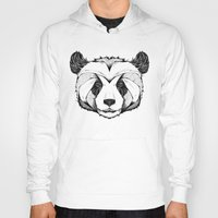 panda Hoodies featuring Panda by Andreas Preis