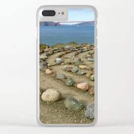 Lands end San Francisco Clear iPhone Case