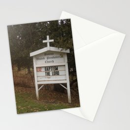 Baptism + the Lord Stationery Cards