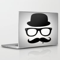 gentleman Laptop & iPad Skins featuring Gentleman by Amy Copp