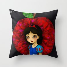 Ruby. Throw Pillow
