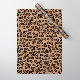 Digital Leopard Wrapping Paper