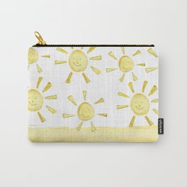 happy sunshine Carry-All Pouch