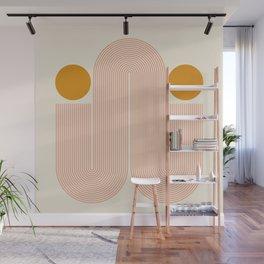 Abstraction_SUN_LINE_VISUAL_ART_Minimalism_005 Wall Mural