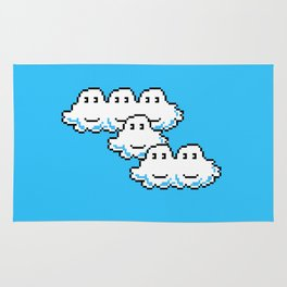Super Mario Clouds Rug
