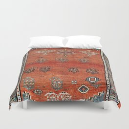 Bakhshaish Azerbaijan Northwest Persian Carpet Print Duvet Cover