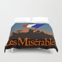 les miserables Duvet Covers featuring Les Miserables by TheWonderlander