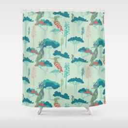 Hoopoe Heaven 2 Shower Curtain