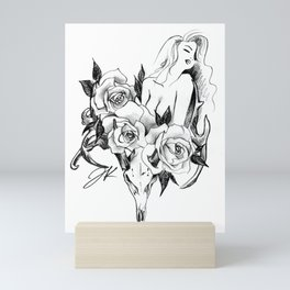 Antelope Roses Mini Art Print