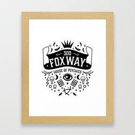 300 Fox Way Framed Art Print