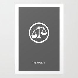 Divergent (Candor) Art Print